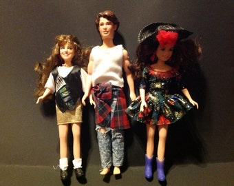 Vintage 1993 Blossom Show Dolls/ Lot Of 3...Blossom, Joey, And Six