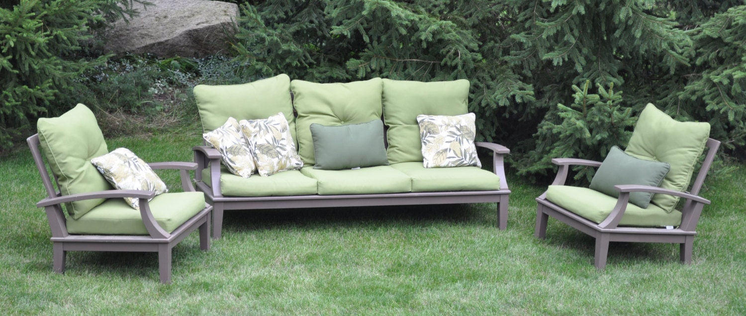 Cypress Patio Furniture Set By Glessboardsfurniture On Etsy