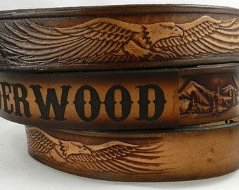 name belt eagle nbt932p painted includes name in