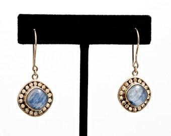 Kyanite 236 - Earrings - Sterling Silver & Kyanite