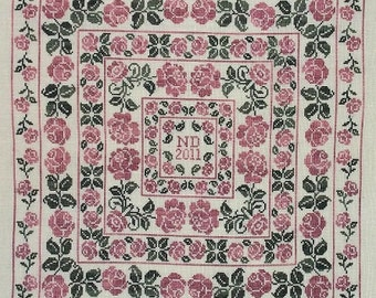 Rose PDF Chart by Northern Expressions Needlework