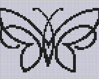 Butterfly 5 Cross Stitch Pattern