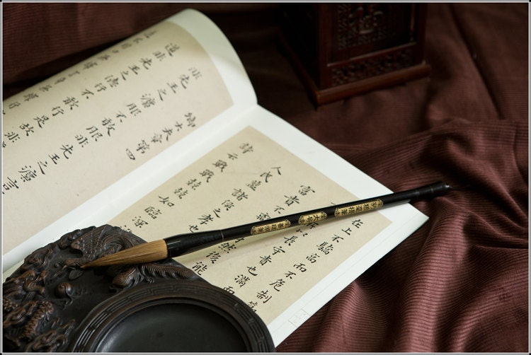 """Giant Chinese Calligraphy Brushes /""""Long Handle/"""" for Performance Dancing 85 cm"""