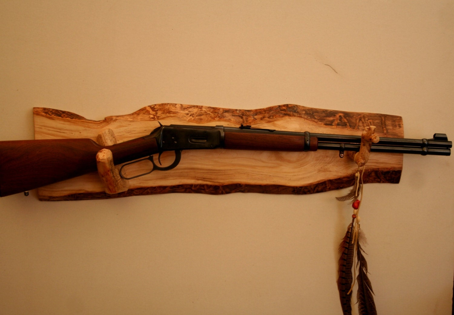 Long Gun Display Rack A57 Aspen With Pine By Rockymtnliving