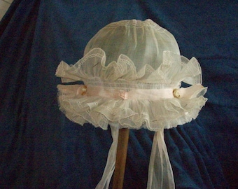 Vintage Baby Bonnett