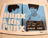 Hunx & His Punx Screenprinted Show Poster