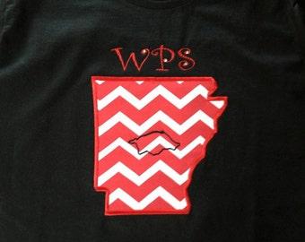 Arkansas Razorback Chevron T-Shirts!