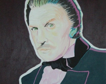 SALE! Vincent Price painting