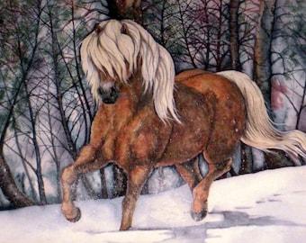 Through the Snow - Original art by Tami Bauer