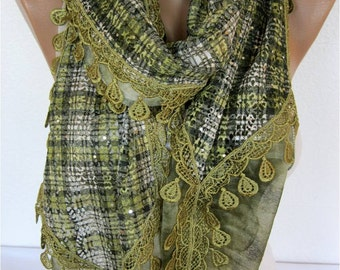 ON SALE !! Trend Scarf- Fashion Scarf-  Shawls-Scarves-Gift Scarf-Shawl
