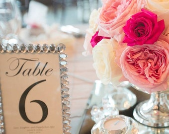 Rhinestone Table Number DISCONTINUED