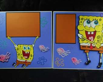 SPONGEBOB 12X12, 2-page layout
