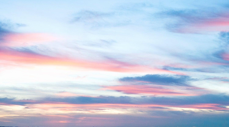 Как делают красивое небо на
