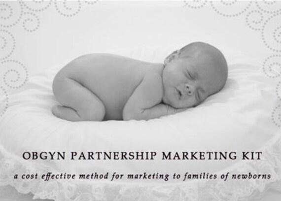 OBGYN Partnership Marketing Kit for Newborn Photographers