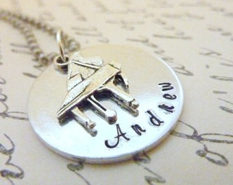 Piano necklace Personalized Piano teacher Necklace music Personalized Hand stamped jewelry