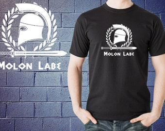 Molon Labe T-Shirt 300 Spartans Inspired Tshirt Shirt Tee Rise of an Empire Come And Take It