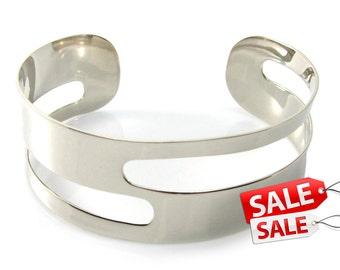Wide Silver Cuff Bracelet Wide Silver Bracelet Cuff Wide Brass Cuff Bracelet Brass Bracelet Cuff Wide Cuff Bracelet Wide Bracelet Cuff 085
