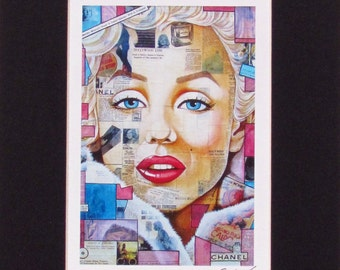 Marilyn Monroe Fine Art Print by Joseph Sonday