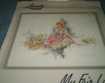 Lanrte Cross Stitch Chart:  My Fair Lady #33669