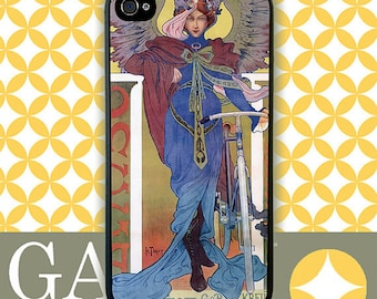 Samsung Galaxy S6 Case, Galaxy S5 Cases, Galaxy S4 Case, Galaxy S3 Case, Galaxy Note 5 Case, Galaxy Note 4 Case - Deco Bicycle Angel