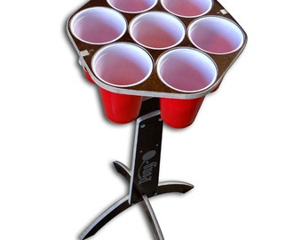 Pong-O - A mix between Beer Pong and Cornhole