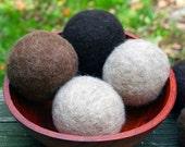 Felted Dryer Balls - Set of 6