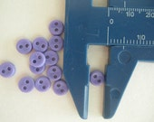 100 pcs 5mm Purple Tiny Buttons Small Buttons for Blythe , Barbie Doll Clothes Buttons