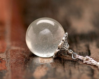Ball afterglow chain * magic * silver kt086