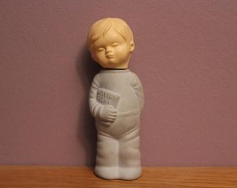 "Vintage Collectable Avon Novelty Perfume Bottle ""Bedtime Story Boy"""