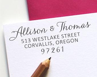 Custom Address Stamp - Self Inking Address Stamp - Personalized Stamp (103)