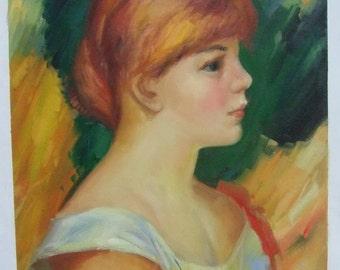 Pierre Renoir, Suzanne Valadon, Oil Painting Reproduction, Suzanne Valadon By Renoir oil painting on linen canvas
