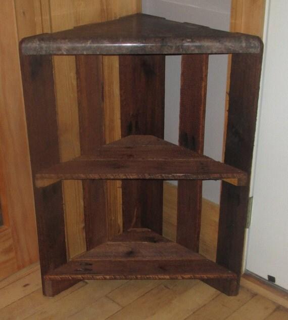Corner table refurbished pallet for Pallet corner bench