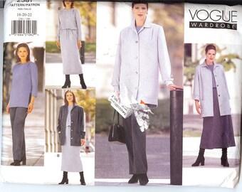 Vogue 2381 Misses'/Miss Petite Jacket, Dress, Veste, R0be,Haut, Jup & Pantalon  ID259