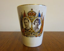Coronation of King George IV and Queen Elizabeth Commemorative Cup
