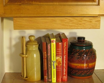 Handcrafted Wooden Charging Station Mounts Under Cabinet