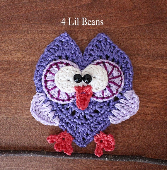 Crochet Pattern. Crochet Owl Pattern. Crochet Owl by 4LilBeans