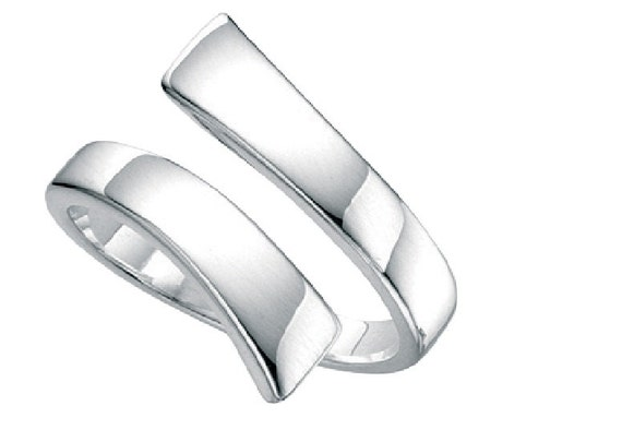 adjustable thumb ring solid silver can be adjusted to all