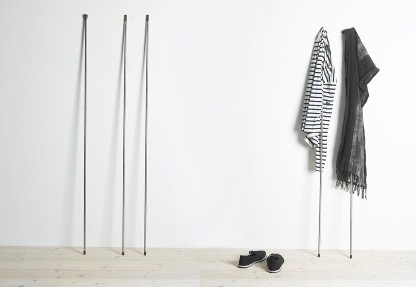 Modern Zen Foyer : Decorative coat rack modern zen entryway clothes hangers
