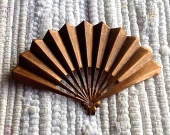 72 mm Vintage Metal Fan Pin