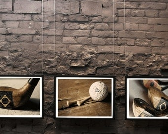 Buy Three at 15% off -Golf Decor Office Decor Man Cave  Decor Home Decor Wall Art Fine Art Photography