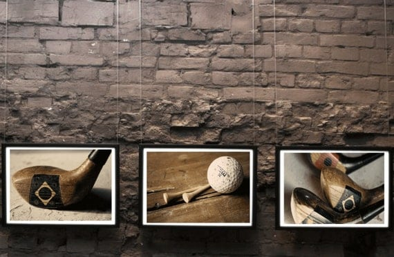 Items Similar To Buy Three At 15 Off Golf Decor Office