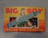 Big Boy Crayons by Milton Bradley Company