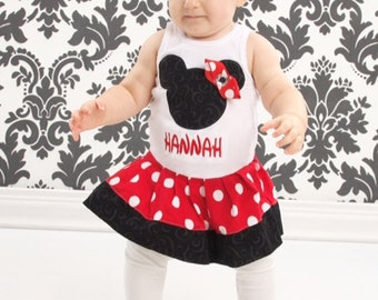 Minnie Mouse Dress.