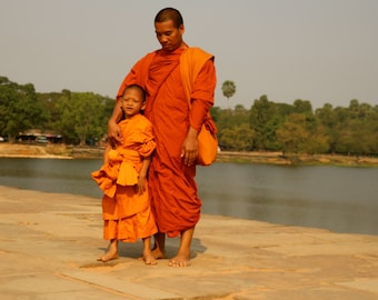monk from Cambodia