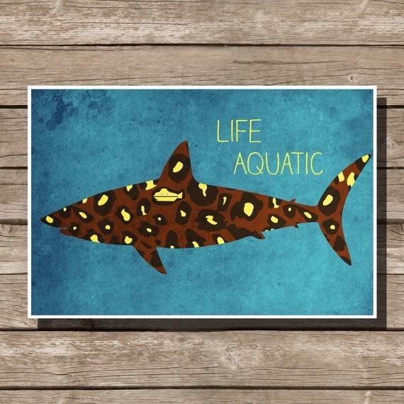 Life Aquatic poster mo...