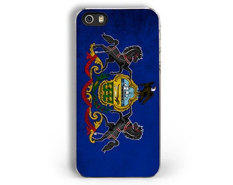 Flag of Pennsylvania State - iPhone 5/5S Case - iPhone 4/4S Case - iPhone 5C Cases -- Pennsylvania Flag