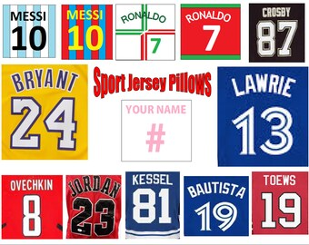 Sports Jersey Pillows