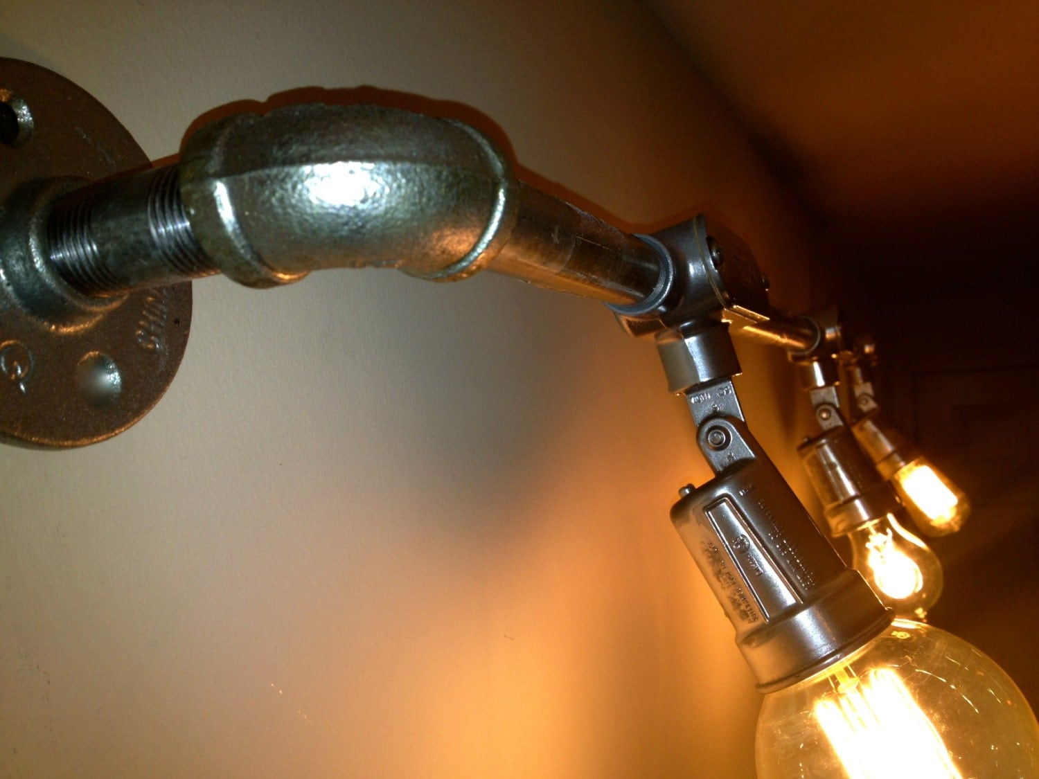 diy industrial bathroom lighting innovative gray diy industrial