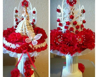 Quinceñera/Princess Centerpiece/Sweet 16/Bridal Shower Centerpiece
