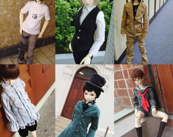 BJDs Pattern Book Vol 1--Boys Casual Clothing